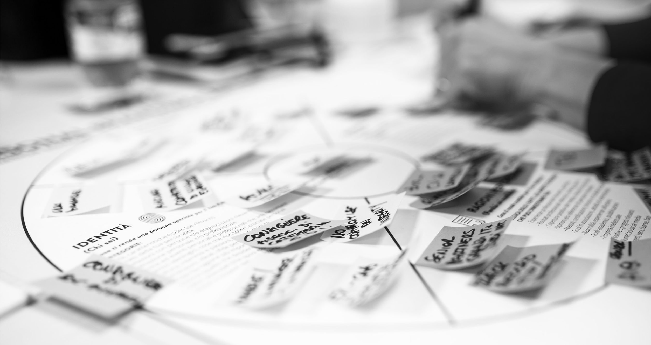 filling the personal branding canvas