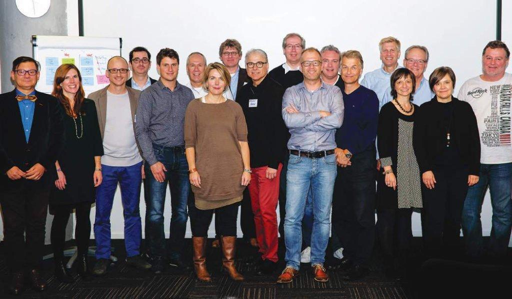 gruppo al workshop di amsterdam