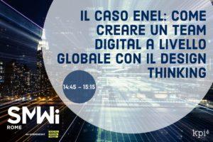 Il caso enel: creare un team digital a livello globale con il design thinking