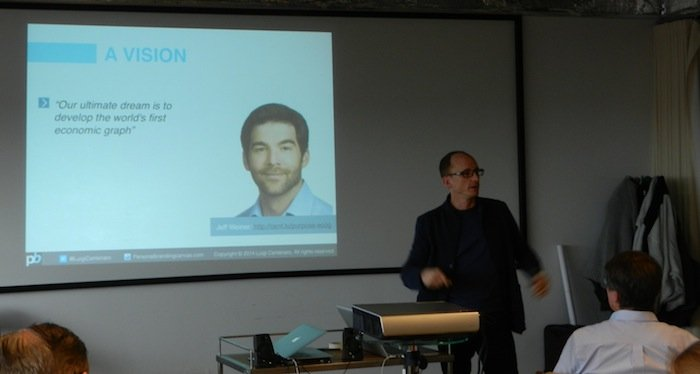 Business Model You MasterClass in Amsterdam with Luigi Centenaro